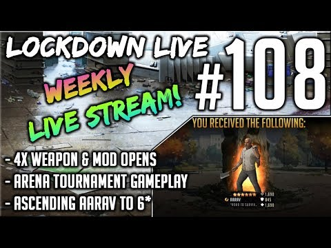 Archived Stream: Ascending Aarav To 6*, Lockdown Live #108, The Walking Dead: Road To Survival