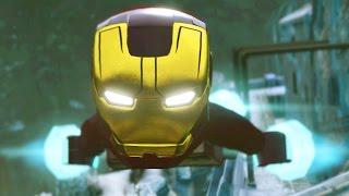 Lego Marvel Vingadores: Primeira Gameplay