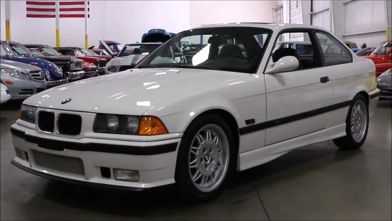 1995 BMW M3 White - YouTube