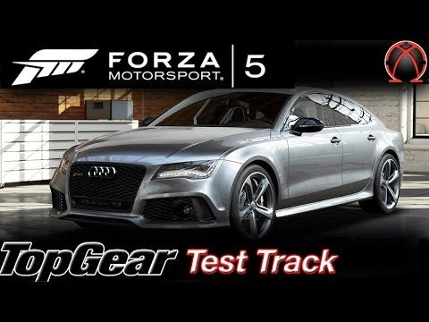 Forza 5: Audi RS7 V.S BMW M6: Top Gear Test Track Lap