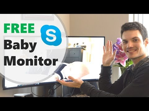FREE baby monitor using Skype