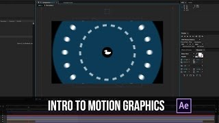 Intro Motion Graphics - After Effects Tutorial