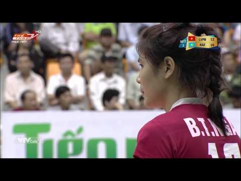 [ Cup VTV Bình Điền 2015 ] - Thông tin Liên Việt Postbank vs Astana (KAZ), Full HD.