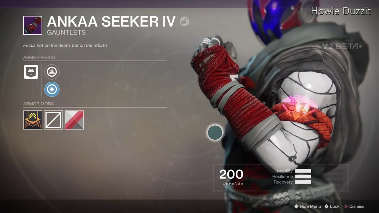 Ankaa Seeker Iv Warlock Gear Set In The Destiny 2 Beta Howie