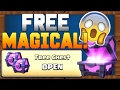 Opening Free Magical Chest Clash Royale!😘