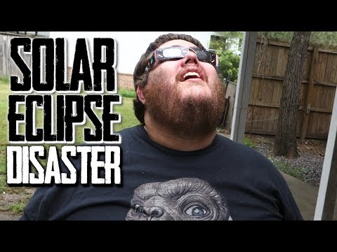 CRYING OVER THE SOLAR ECLIPSE!!