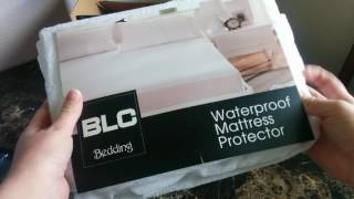 ☂ Mattress Protector Premium 100% Waterproof / Bed Bug Proof Unboxing & Review!!! ☂