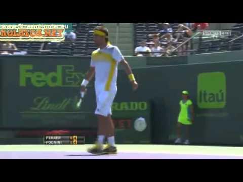 David Ferrer vs Fabio Fognini ATP Miami 2013 Sony Open Tennis 2013 Final
