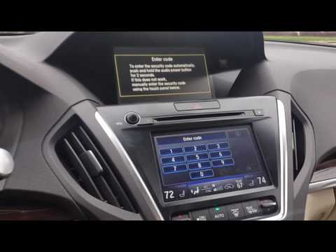BYPASS RADIO OR NAVIGATION CODE ON NEWER ACURA AND HONDA VEHICLE'S.