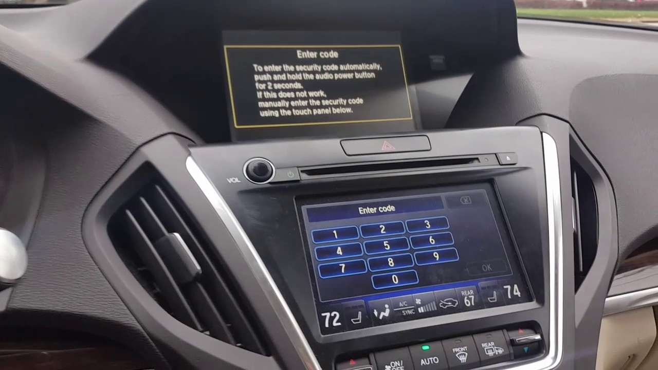 How To Enter Honda Radio Code >> BYPASS RADIO OR NAVIGATION CODE ON NEWER ACURA AND HONDA ...