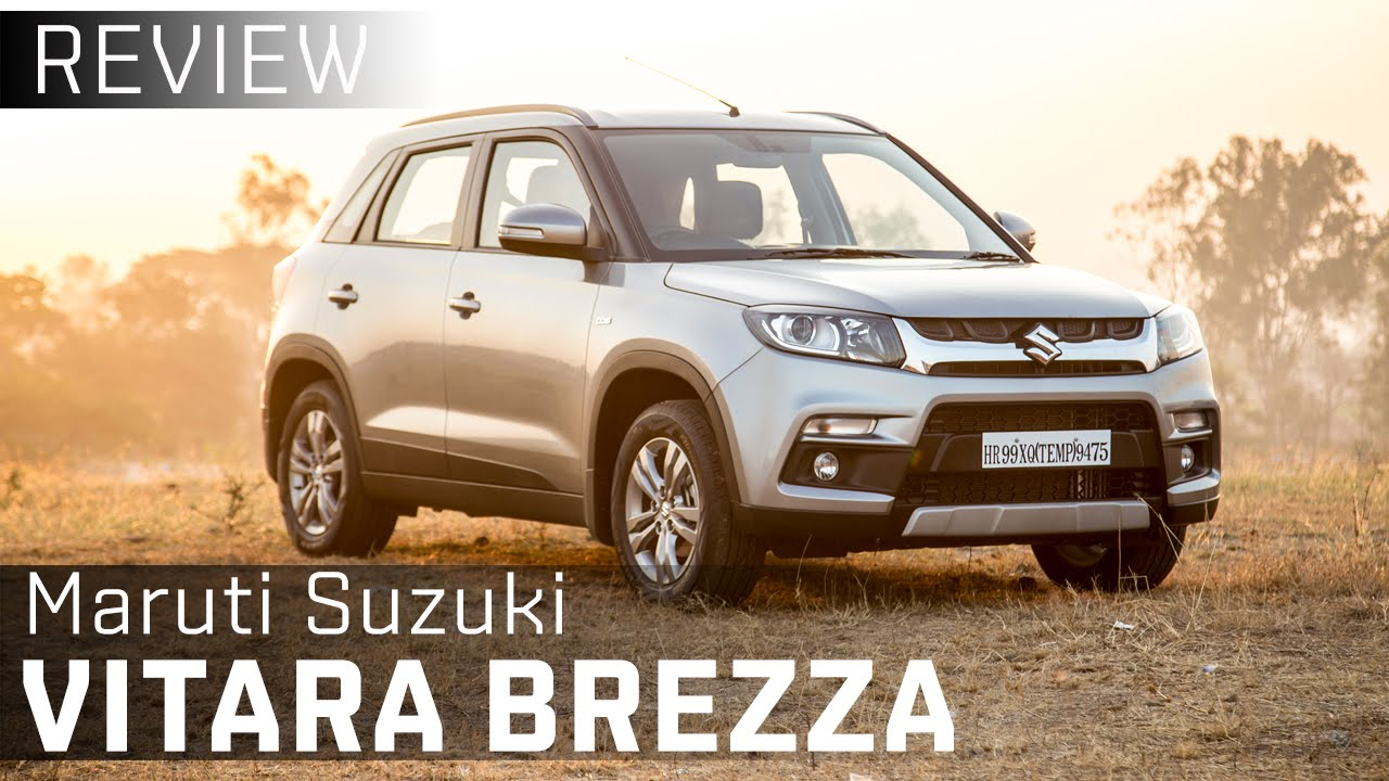 Maruti Suzuki Vitara Brezza First Drive Review Video Zigwheels