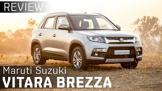 maruti suzuki vitara brezza   first drive review video   zigwheels india