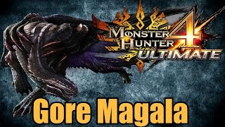 Monster Hunter 4 Ultimate - Gore Magala a.k.a. Maggie