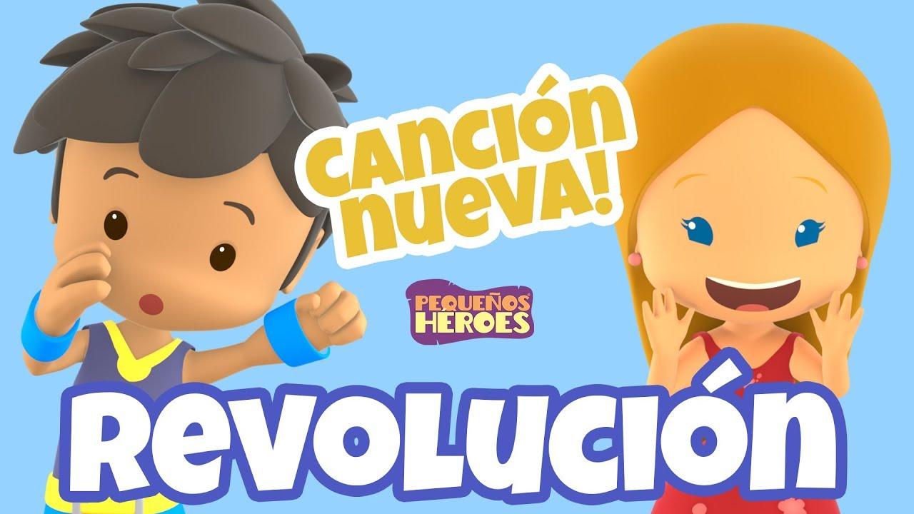 Revolución - Canciones infantiles cristianas - Pequeños Héroes - Generación 12 Kids