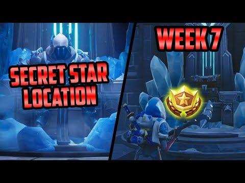 Season 7, Week 7 | *SECRET* Battle Star Location! (Free Tier) - Fortnite