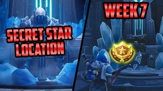 Season 7, Week 7 | *SECRET* Battle Star Location! (Free Tier) - Fortnite