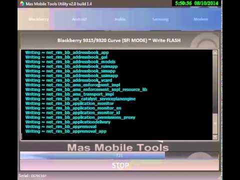 blackberry 9320 flash software