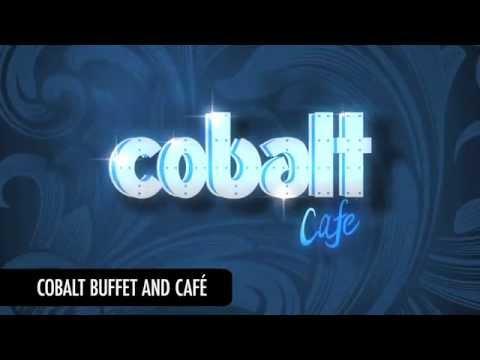 Cobalt Cafe at Sands Casino Resort Bethlehem - Motion Graphics Video for Digital Signage
