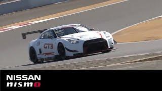 Nissan GT-R NISMO GT3 2018 Shakedown at Fuji