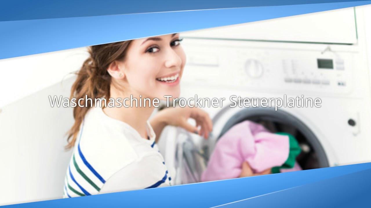 Waschmaschine trockner spülmaschine steuerplatine reparieren
