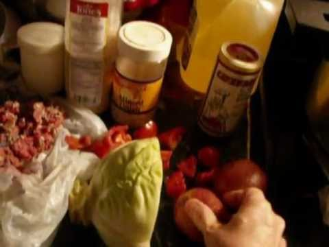 Grammy E's cabbage pepper sirloin stew.wmv