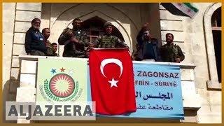 🇹🇷 Turkish forces and Free Syrian Army capture Afrin city | Al Jazeera English