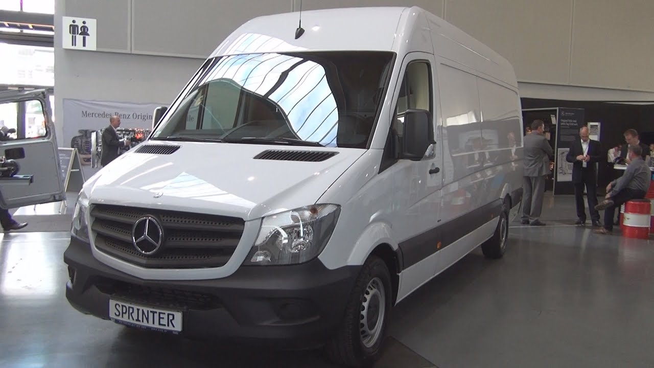 mercedes-benz sprinter 316 bluetec panel van (2016) exterior and