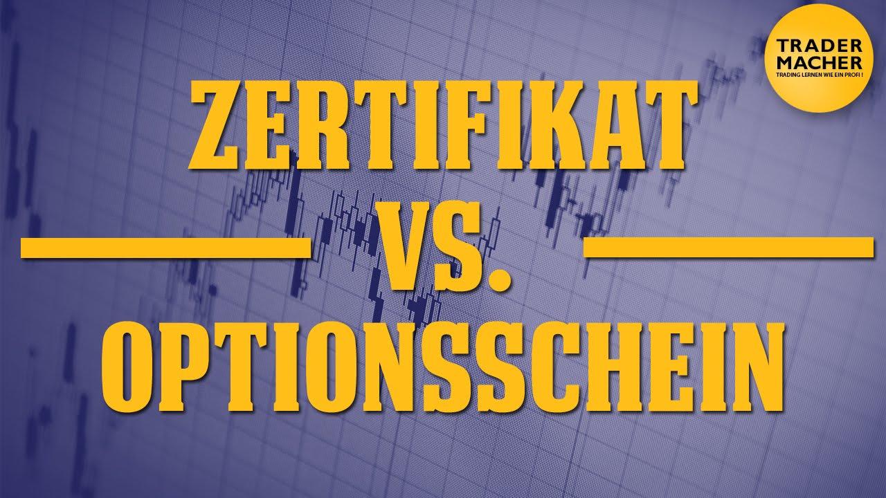 cfd vs optionsscheine