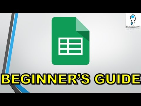 How to use Google Sheets Tutorial