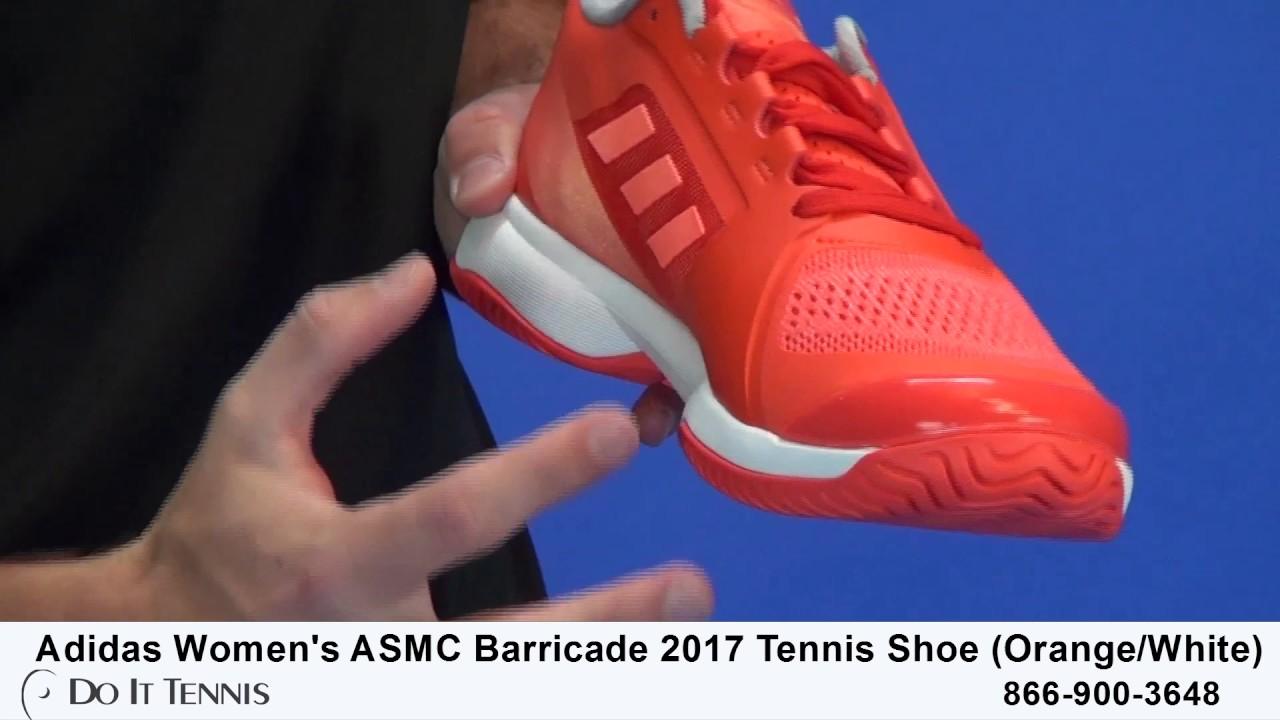 new concept 84477 e00dd ... shop adidas womens asmc barricade 2017 tennis shoes 5e4c6 69b30