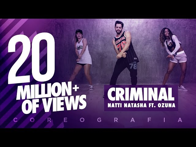 Criminal - Natti Natasha ft Ozuna FitDance