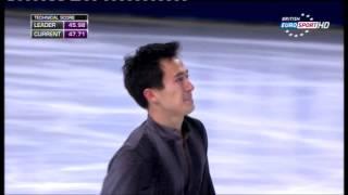 2013 TEB SP Patrick Chan British Eurosport