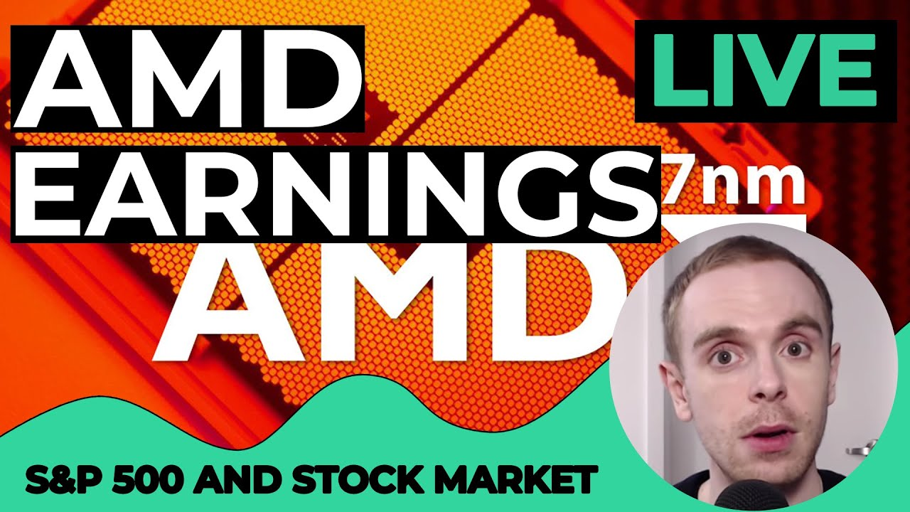 Live Stock Market Today Amd Earnings Advanced Micro Devices Stock Stock Market Live July 28 2020 Youtube