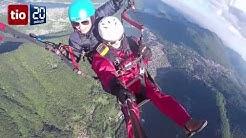 Parapendio tandem in Ticino con FlyTicino - Reportage TIO