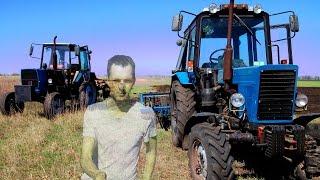 Сельхозтехника в работе. + Находочка, я в ШОКЕ ! МТЗ-82 и ЮМЗ-6 Культтивация!
