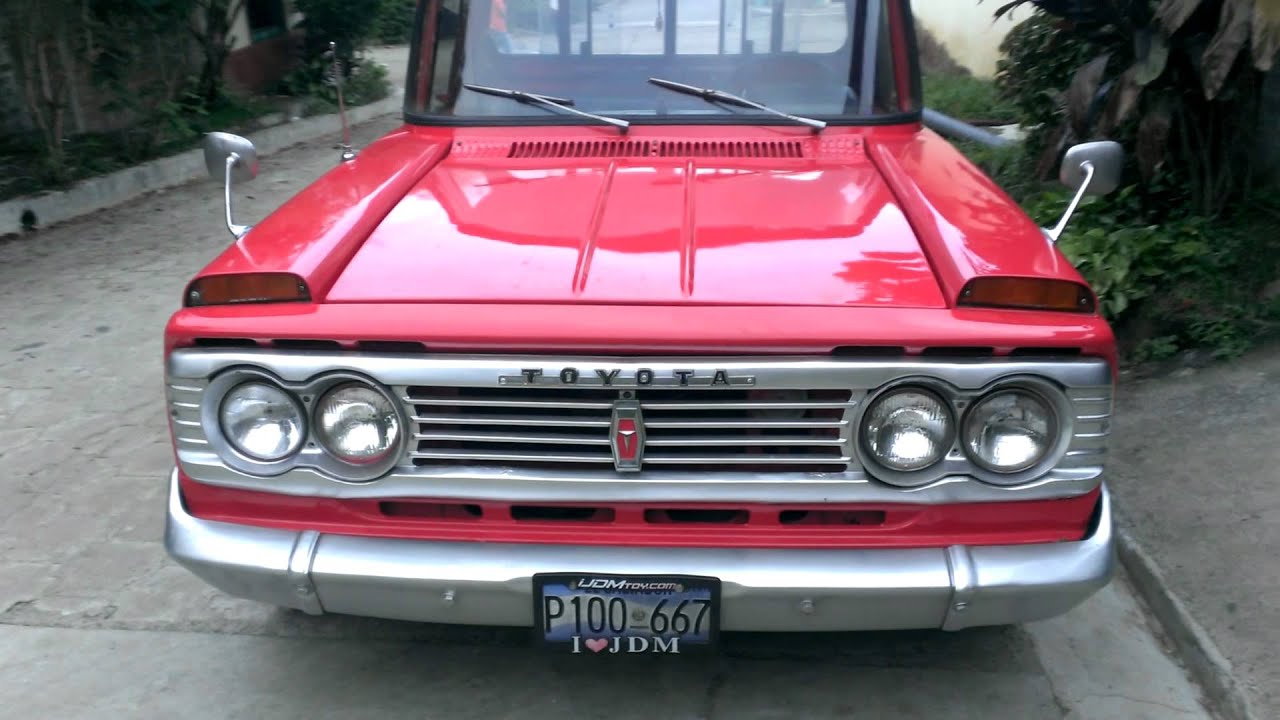 1978 Toyota Stout rk101 El Salvador - YouTube