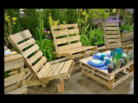 Muebles con palets muebles rusticos de madera youtube - Muebles de madera rusticos ...