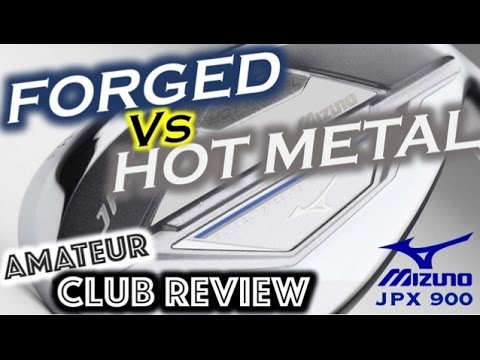 Mizuno JPX 900 FORGED Vs HOT METAL - Amateur Golf Club Review