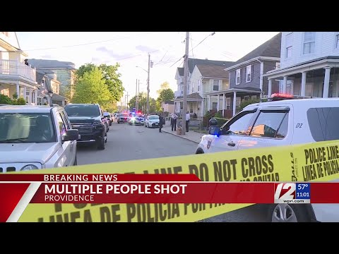 Police: Shooting in Providence neighborhood may be largest in city's history; 9 people injured