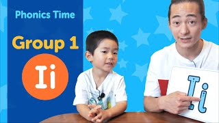 Group 1: Ii | Phonics Time with Masa and Junya | Made by Red Cat Reading