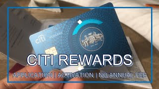 Citi Bank Rewards Card | Online Application | Unboxing | No Annual Fee Forever