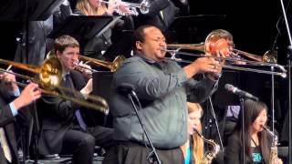 """Hallelujah Shout"" Linn-Mar Colton Center Jazz Ensemble 31-Mar-2014"