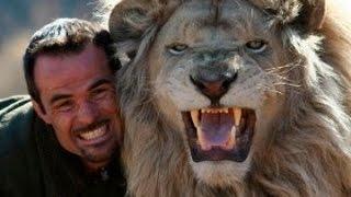 Increíble Amistad Entre Hombre Y Animales Salvajes, Leones, Tigres Cocodrilos, Los Mejores Amigos.