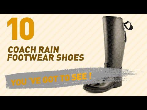 Coach Rain Footwear Shoes // New & Popular 2017