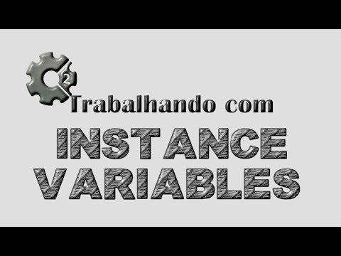 Construct 2 - trabalhando com instance variables