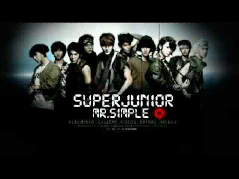 Super Junior - Super Man  Karaoke (Instrumental)