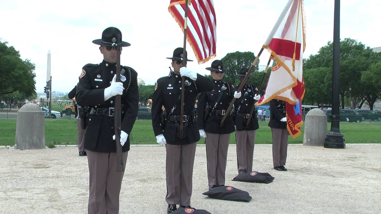 FHP Honor Guard Competition Team Posting of Colors
