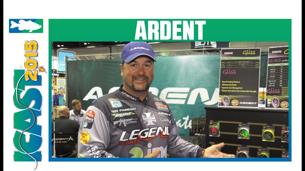 ICAST 2015 Videos - Ardent Gliss Fishing Line with Fred