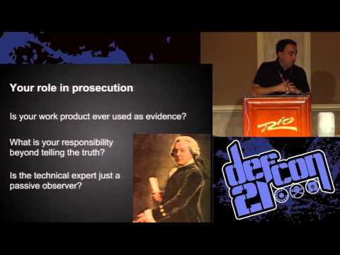 DEF CON 21 - Alex Stamos - An Open Letter The White Hat's Dilemma