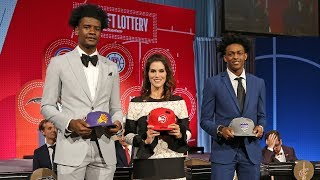Suns Win 1st Pick In NBA Draft Lottery 2018 | May 15, 2018